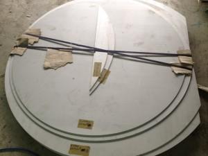 6t不銹鋼半圓對接
